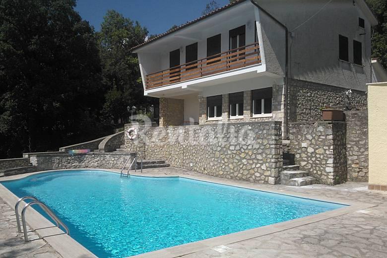 Villa for rent in Lazio Rieti