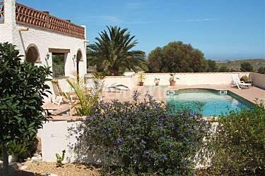 Las Swimming pool Almería Vera Countryside villa