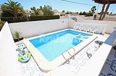 Villa en alquiler en 1a línea de playa Alicante