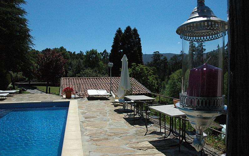 4 Swimming pool Viana do Castelo Vila Nova de Cerveira Cottage - Swimming pool