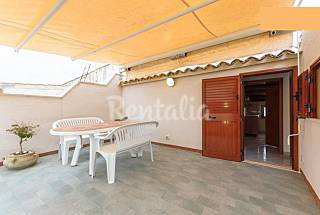 3 bright houses near the sea and the center Trapani