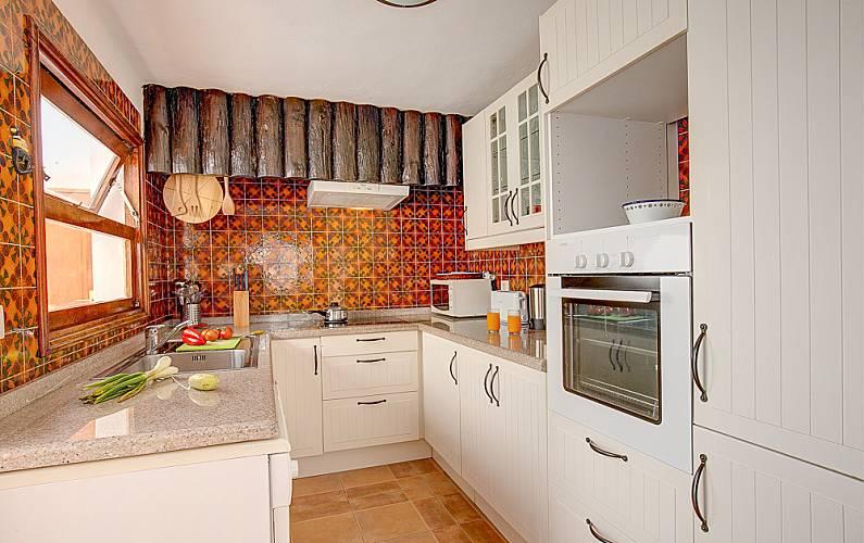 Villa Cocina Lanzarote Teguise Villa en entorno rural - Cocina