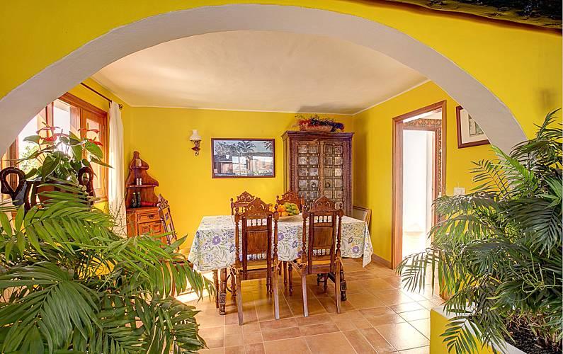 Villa Comedor Lanzarote Teguise Villa en entorno rural - Comedor