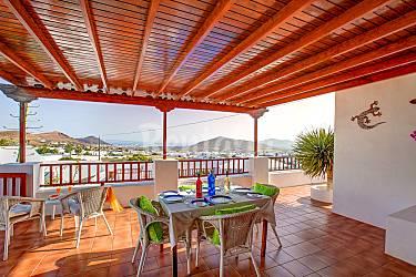 Villa Terrace Lanzarote Teguise Countryside villa