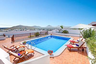 Villa para 2-6 personas a 8 km de la playa Lanzarote