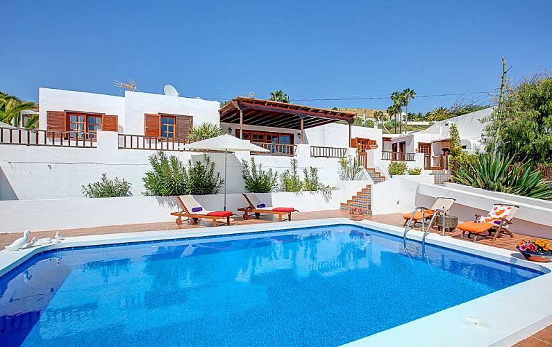 Villa Piscina Lanzarote Teguise Villa en entorno rural - Piscina