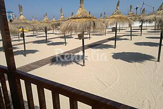 Apartment with 2 bedrooms on the beach front line Trapani