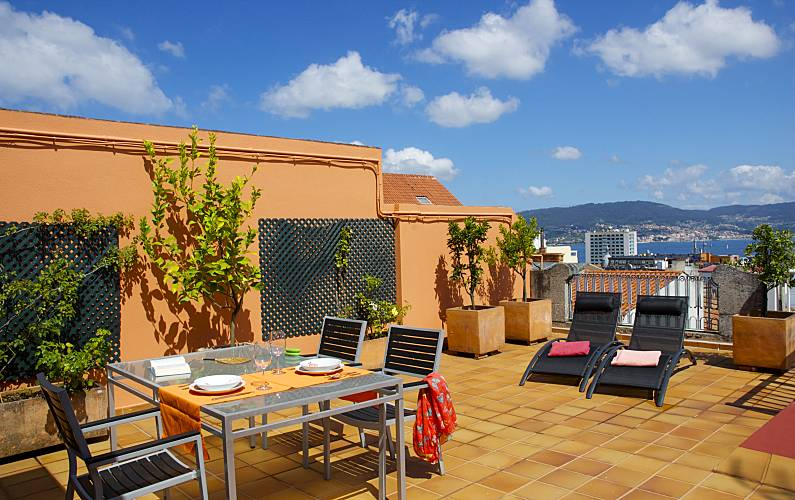 Penthouse With Large Terrace In The Centre Wifi Vigo