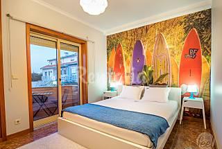 Apartamento para 5 personas en 1a línea de playa Oporto