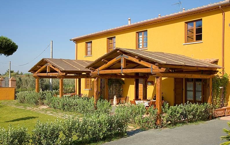 Delizioso appartamento in agriturismo al mare  Livorno