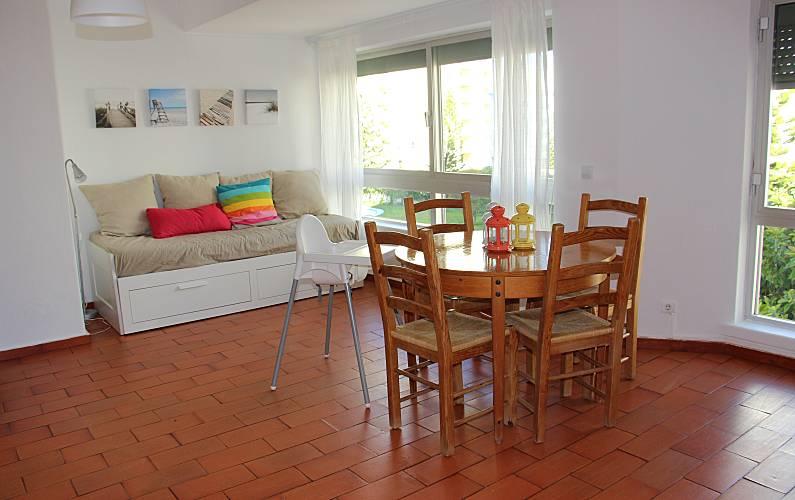 2 Sala Algarve-Faro Silves Apartamento - Sala