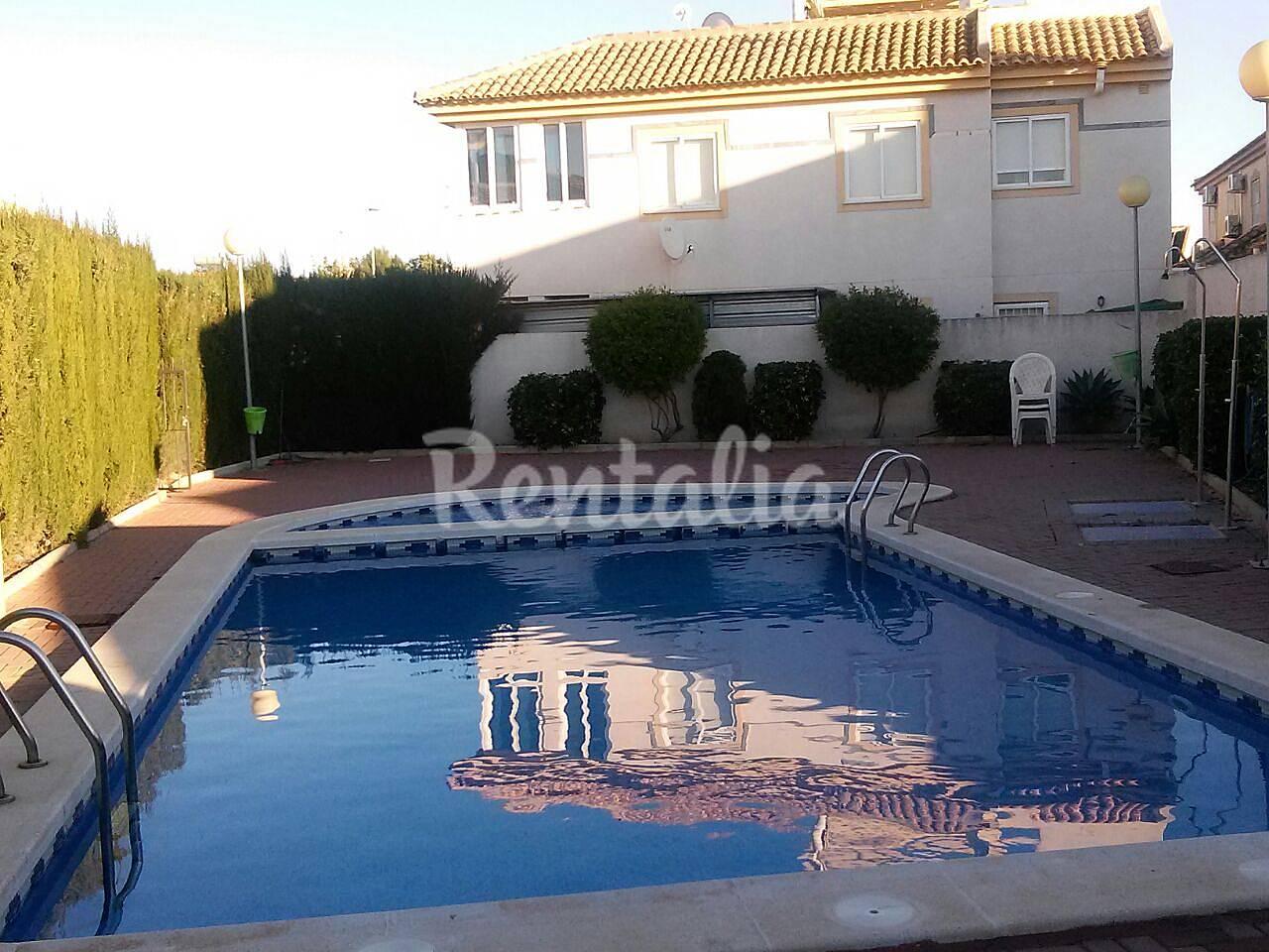 Apartamento tico con piscina los alcazares murcia - Atico con piscina ...