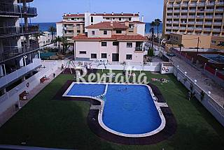 Apartamento con piscina a 50 metros de la playa Castellón