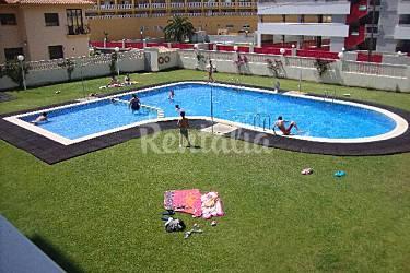 Apartamento con piscina a 50 metros de la playa for Piscinas castellon