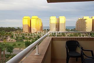 2 Appartements de 2 chambres à 150 m de la plage Castellón