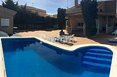 House with large garden & 100 m to the beach Murcia