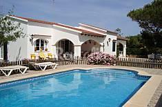 Acogedora villa con piscina en la playa Menorca