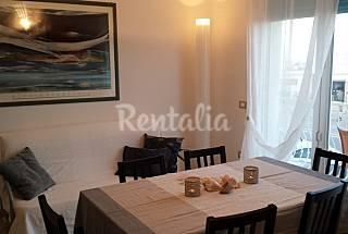 Apartamento para 4-6 personas en 1a línea de playa Ferrara