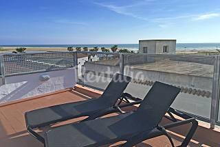 Apartment, terrace with sea view 150m. beach Cádiz