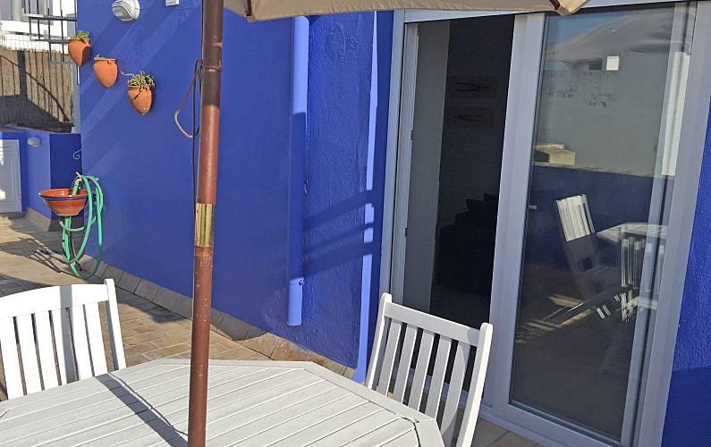 Ático, Terraza Cádiz Conil de la Frontera Apartamento - Terraza