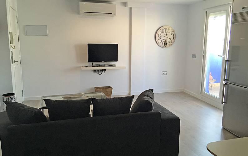 Ático, Interior del aloj. Cádiz Conil de la Frontera Apartamento - Interior del aloj.