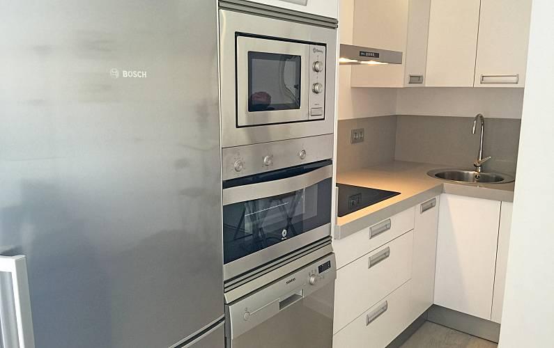 Ático, Cocina Cádiz Conil de la Frontera Apartamento - Cocina