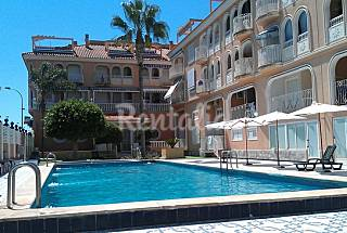 Apartment with 3 bedrooms only 100 meters from the beach Murcia