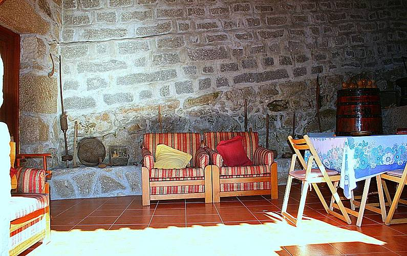 Casa Sala Braga Amares Casa rural - Sala