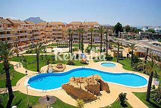 Apartamento cerca playa piscinas aire acondic Alicante