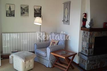 Acogedor Salón Lleida/Lérida Vielha e Mijaran Apartamento