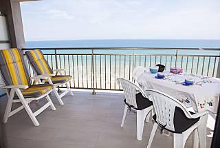 Apartamento en 1a línea de playa Valencia