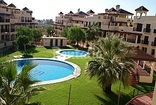 Atico con gran terraza en Vera Playa Puerto Rey Almería