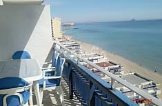 Apartamento para 6 personas en 1a línea de playa Murcia