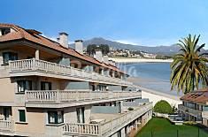 Apartamentos de 2 habitaciones en 1a línea de playa Pontevedra