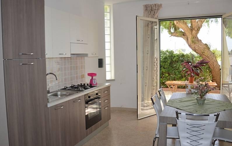 Villa Kitchen Trapani Marsala Villas - Kitchen