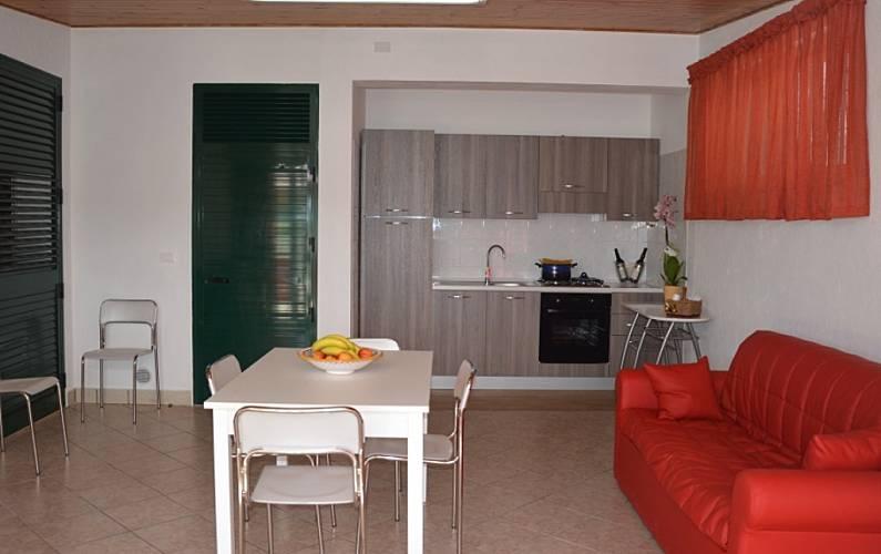 Villa Dining-room Trapani Marsala Villas - Dining-room