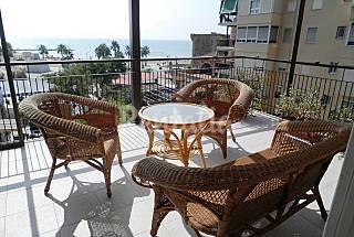 Apartamento para 7-8 personas a 50 m de la playa Castellón