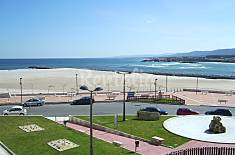 Apartment for 4-5 people on the beach front line Lugo