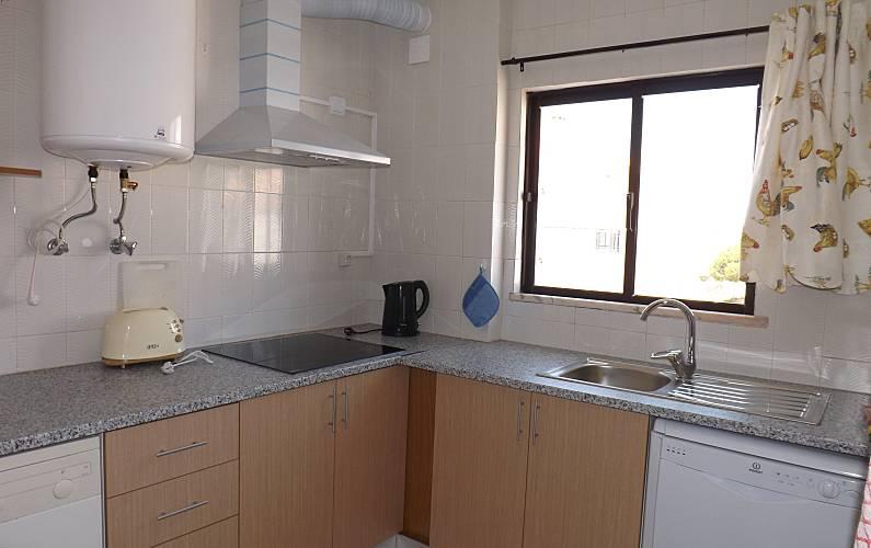 2 Cocina Algarve-Faro Albufeira Apartamento - Cocina