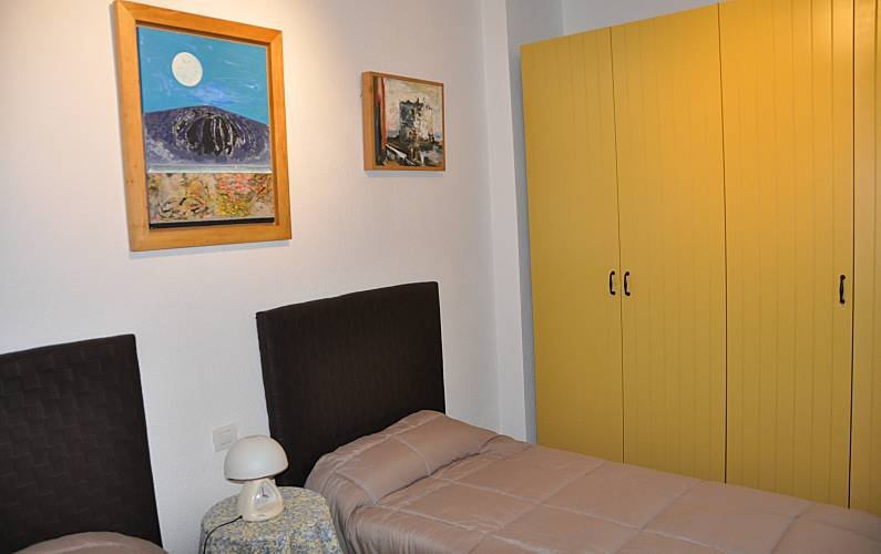 Apartment Bedroom Gran Canaria Las Palmas Apartment - Bedroom