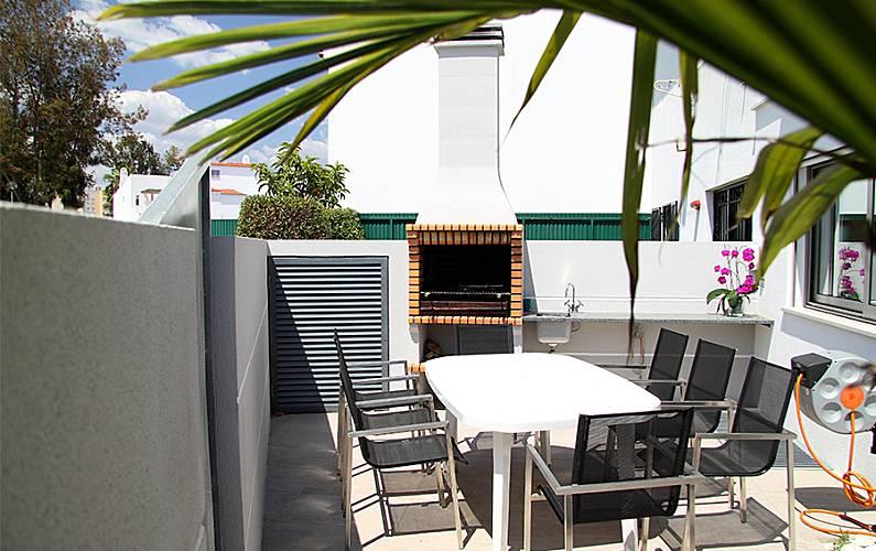 Luxuosa Terraço Algarve-Faro Loulé casa - Terraço