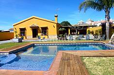 Villa El Albero de 4 hab. a 2 km de la playa Cádiz