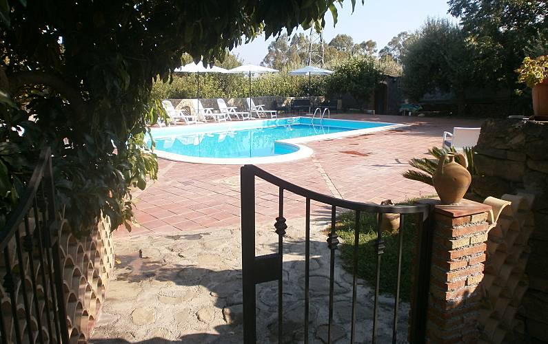 3 Garden Catania Calatabiano Countryside villa - Garden
