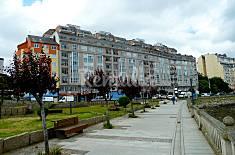 Apartamento para 4 personas a 500 m de la playa Lugo