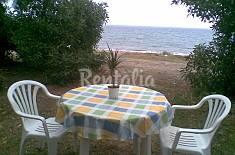 Casa de 2 habitaciones en primera línea de  playa Murcia