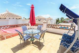 Beautiful apartment near the beach,pool and garage Málaga