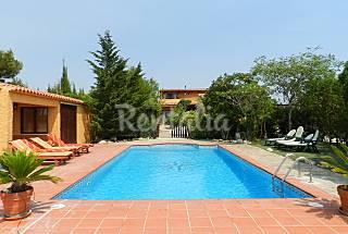 Maison confortable avec piscine, à 15 min. plages Tarragone