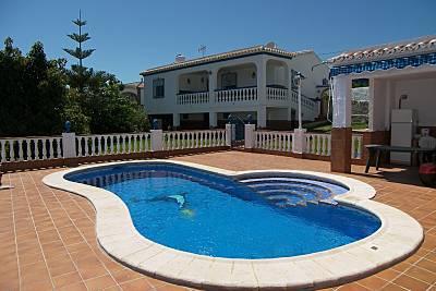 Vivenda para alugar a 2.5 km da praia Málaga