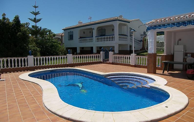 Villa zur Vermeitung, 2.5 Km bis zum Strand - Frigiliana (Málaga) La ...