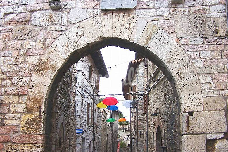 Apartments in the historic center of Assisi Perugia